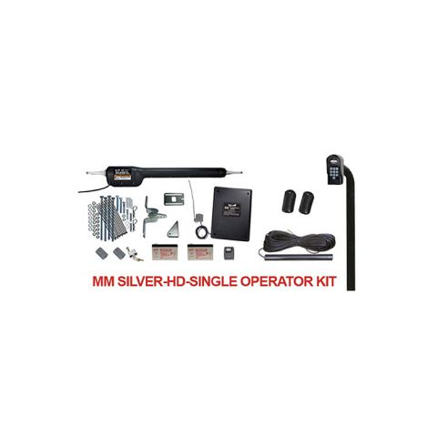 Mighty Mule Heavy Duty Gate Operator Kit for Single Gate - 850 lbs. / 18 ft.