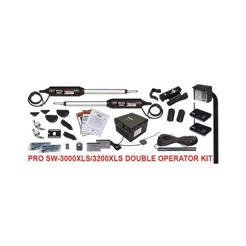 GTO PRO3000XLS/3200XLS Double Swing Gate Operator Kit