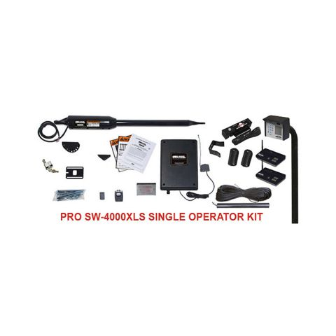 GTO PRO4000XLS Single Swing Gate Operator Kit