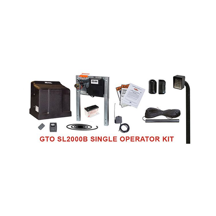 GTO 12V Slide Gate Operator Kit (1000lb capacity)
