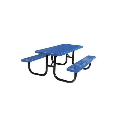 Heavy-Duty Rectangular Table - Black Frame