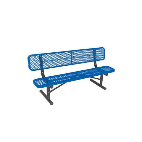 Portable Bench With Back