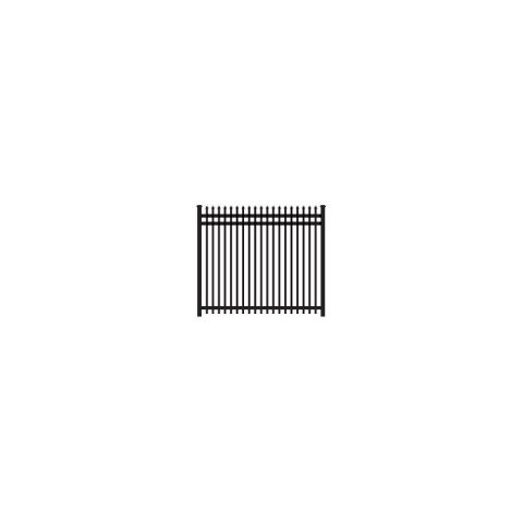 Ameristar Montage Plus Classic Fence Section, 3-Rail
