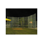 Hoover Fence C-30 Backstop Kit, 20' wide, 20' wings, 20' high (BS-C30)