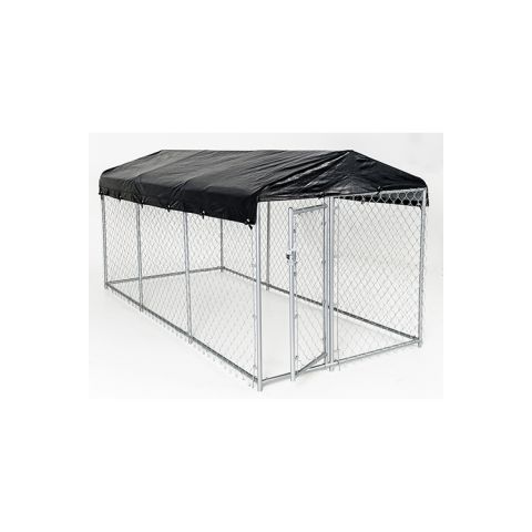 Jewett-Cameron Lucky Dog Weatherguard Kennel Covers w/ Frame