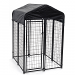Jewett-Cameron Uptown Welded Wire Boxed Kennel Kits (KENNEL-BOXED-UPTOWN)