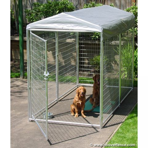 Jewett-Cameron Best of Show Welded Wire Kennel Panels with Gate