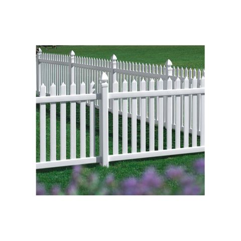 Bufftech Danbury Vinyl Fence Sections