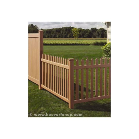 Bufftech Danbury Select Cedar Vinyl Fence Sections