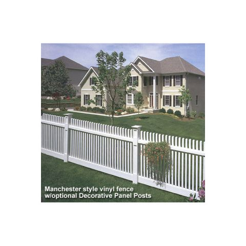 Bufftech Manchester Vinyl Fence Sections