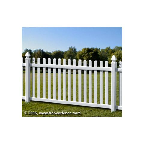 Bufftech Rothbury Vinyl Fence Sections