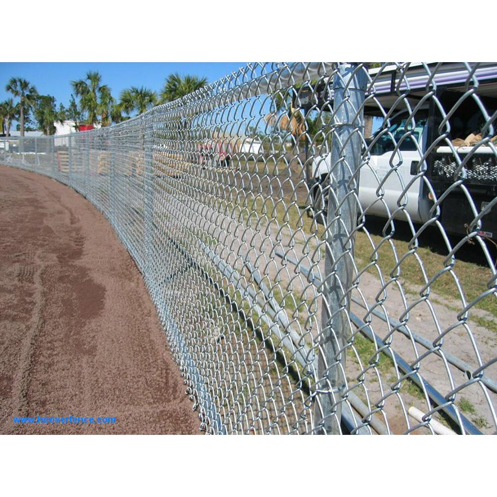 Hoover Fence Chain Link Homerun / Outfield Fencing Kits | Hoover ...