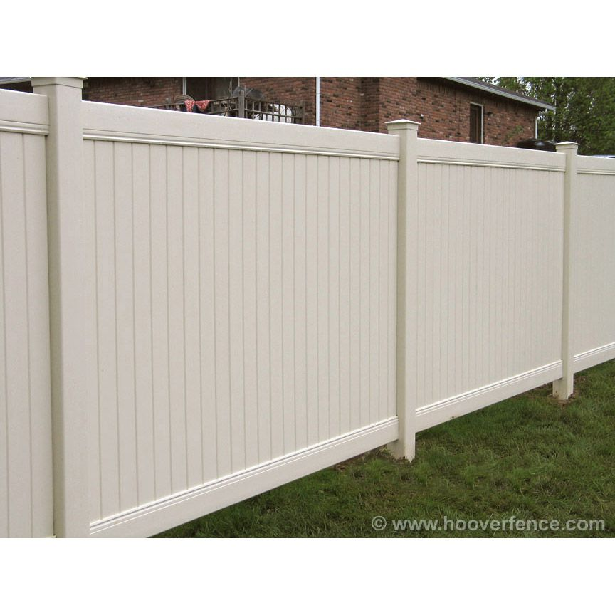 Bufftech New Lexington Vinyl Fence Panels