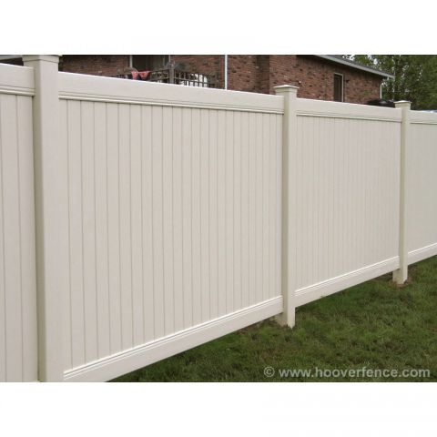 Vinyl Fence Sections | Hoover Fence Co