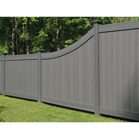 Bufftech Chesterfield CertaGrain Vinyl Fence Panels - Swoop