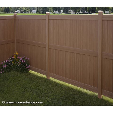 Bufftech Galveston CertaGrain Fence Sections