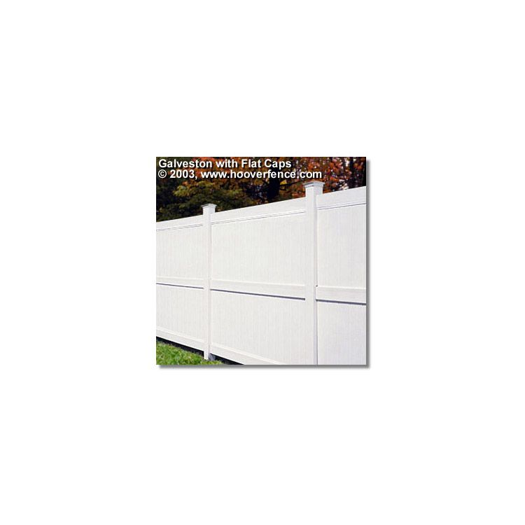 Bufftech Galveston Vinyl Fence Sections