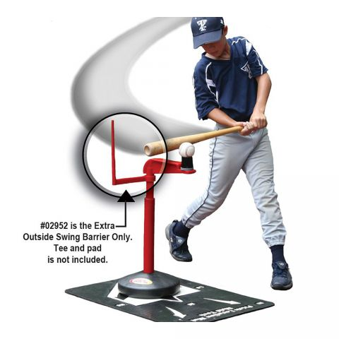 Extra Outside Swing Barrier for Advanced Skill System Tee