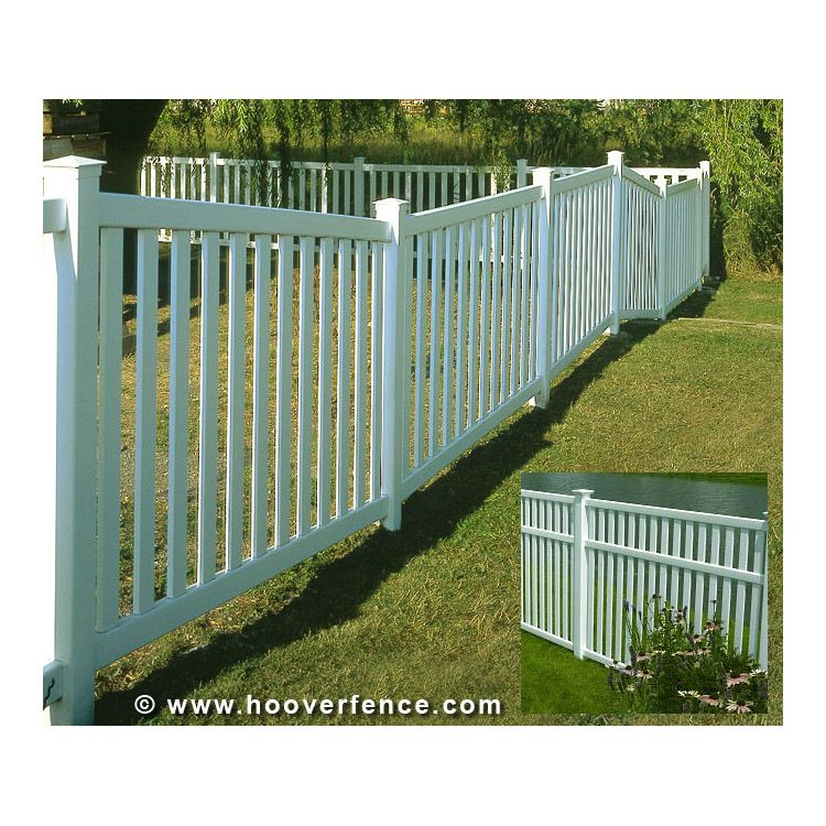 Bufftech Baron Vinyl Fence Sections