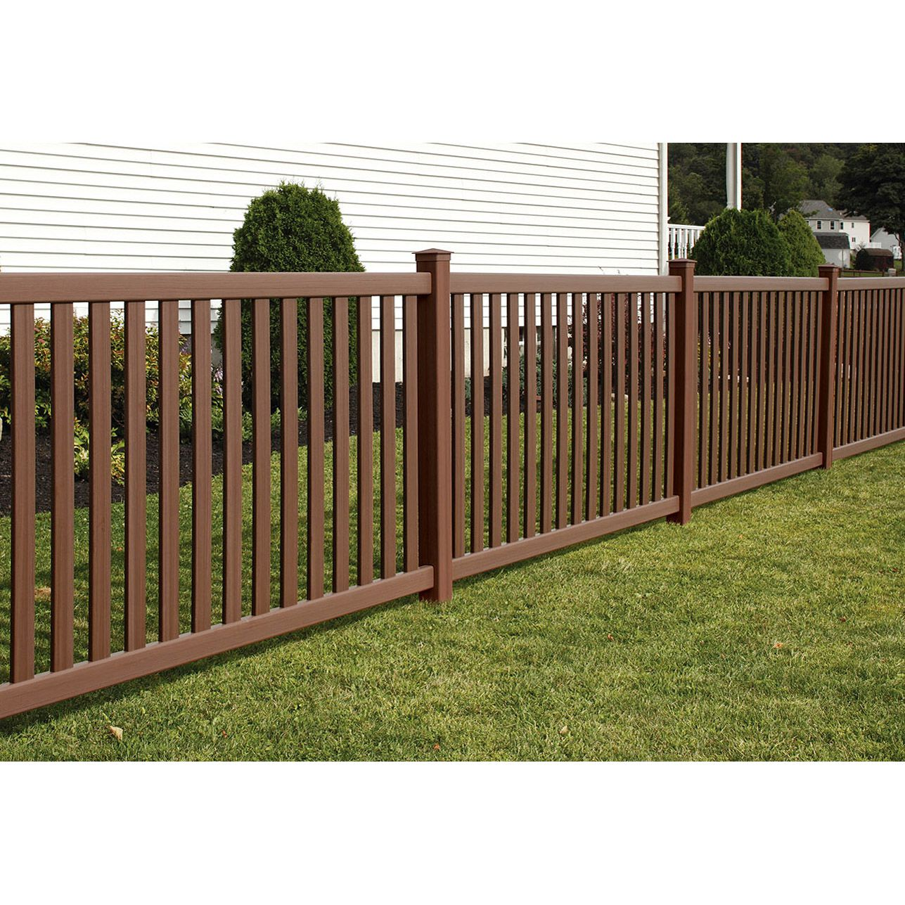 Bufftech Baron Select Cedar Vinyl Fence Sections
