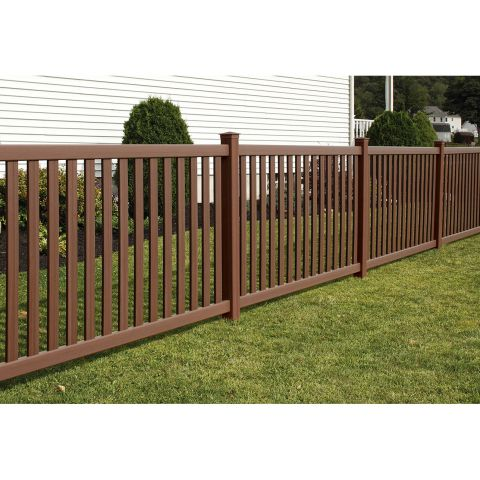 Bufftech Baron Select Cedar Vinyl Fence Panels