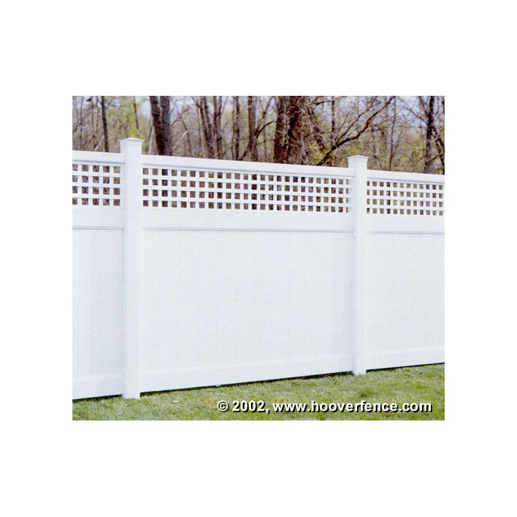 Bufftech Chesterfield Vinyl Fence Sections - Westminister Accent