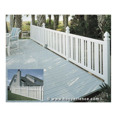 Bufftech Countess Vinyl Fence Sections