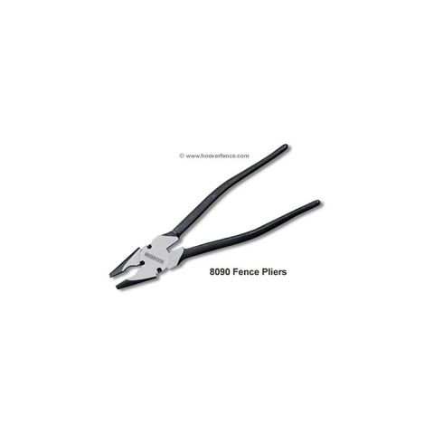"Pull'R 10"" Round Nose Fence Pliers"