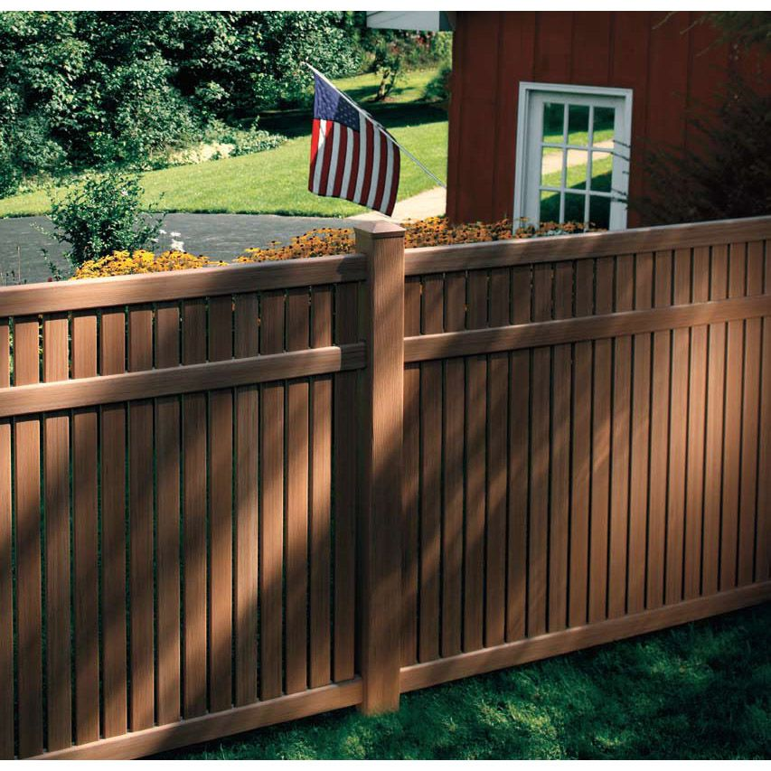 Bufftech Imperial Select Cedar Vinyl Fence Sections