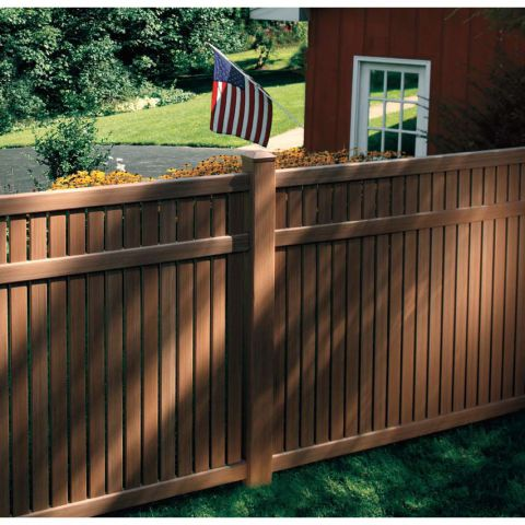 Bufftech Imperial Select Cedar Vinyl Fence Panels