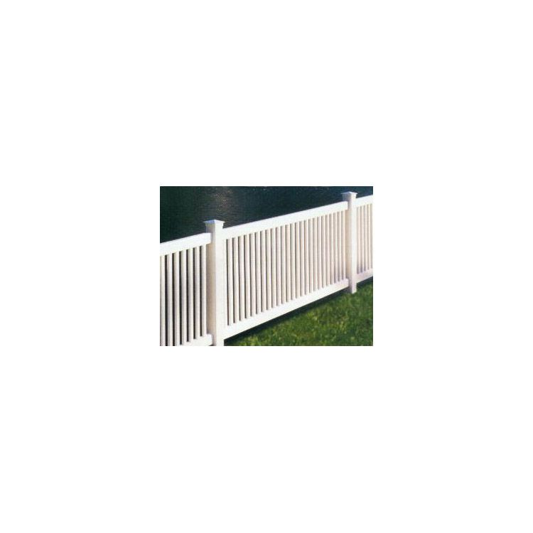 Bufftech Princeton Vinyl Fence Sections