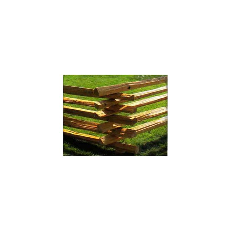 Cedar Stack Rails Unscarfed Hoover Fence Co