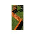 Cedar Stack Rails - Unscarfed (W-RAIL-SR-WRC-US)
