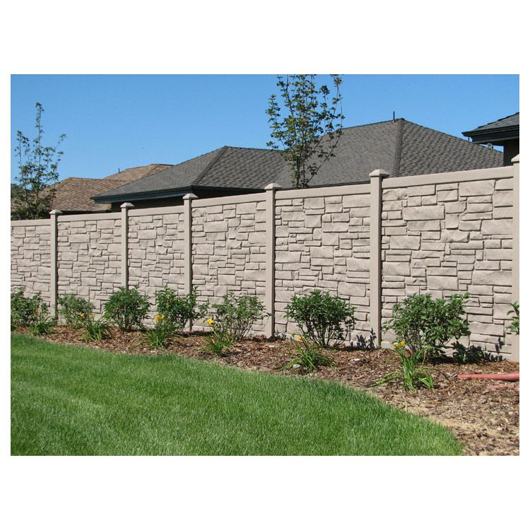 SimTek EcoStone Fence Sections