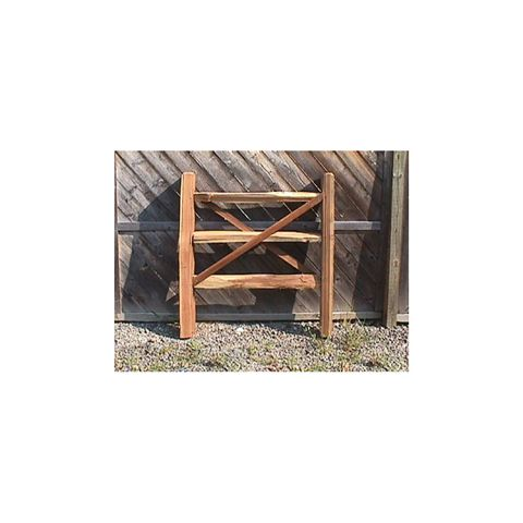 Hoover Fence Wood Split Rail Gates - Western Red Cedar