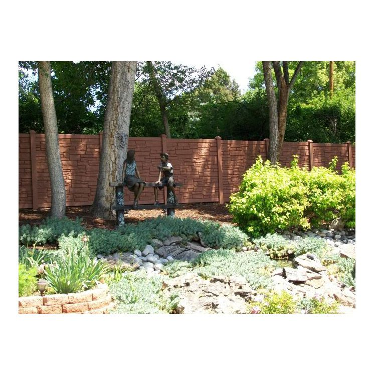 Simtek Ecostone Fence Sections Hoover Fence Co