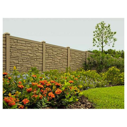 SimTek EcoStone Plus Fence Sections