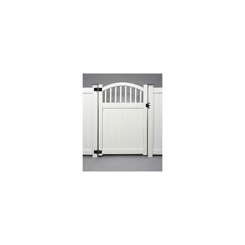 Bufftech Chesterfield Convex with Victorian Accent Vinyl Gates