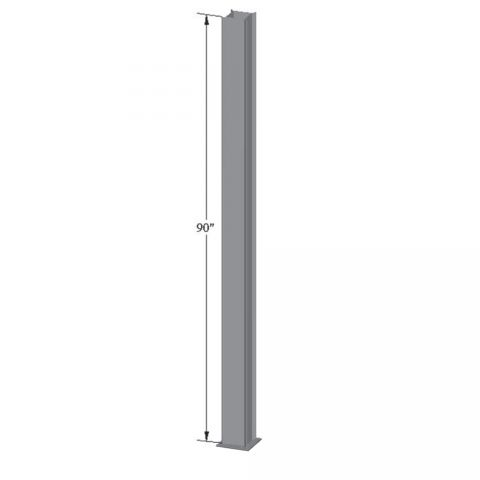 Superior Square Pergola Column Mount