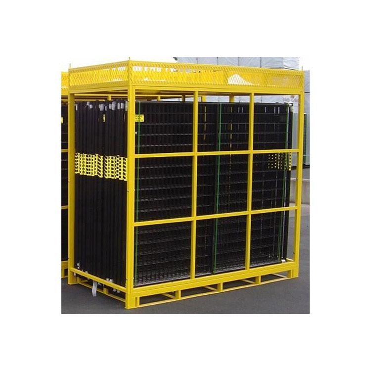 Jewett-Cameron Replacement Pallet ONLY w/Basket for Perimeter Patrol Panels - Yellow