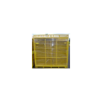 Jewett-Cameron Replacement Pallet ONLY w/Basket for Perimeter Patrol Panels - Yellow (RF-12815)