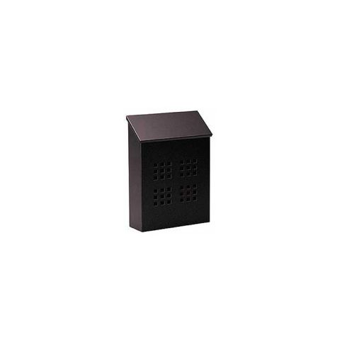 Traditional Decorative Mailbox (black) - Vertical