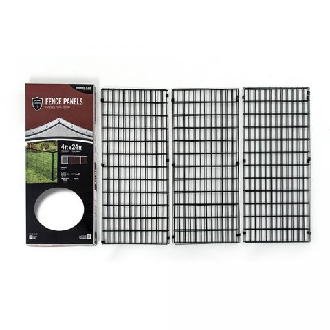 YardGard Select Steel Fence Panel Kit
