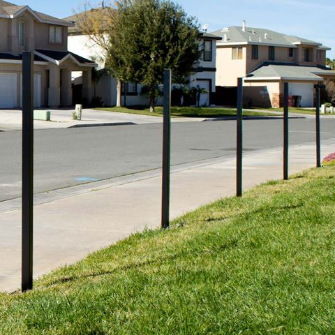 YardGard Select 6' Long Steel Fence Post