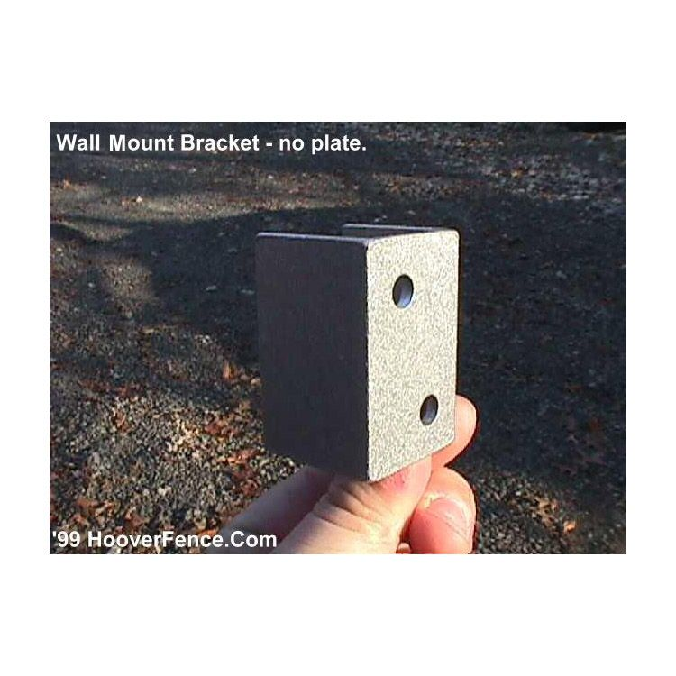 "Bufftech Wall Mount Bracket (1-1/4"") No Plate - 2 x 4"