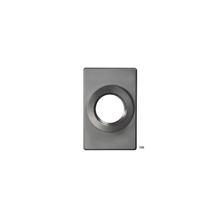 D&D Technologies SureClose - 0510-05 - Post Mounting Bracket, Center Mount - Steel