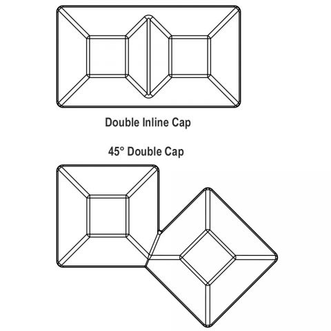 SimTek Double Caps