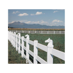 LMT Stallion Head Post Cap - 5x5 - White (LMT-S-55SHW)