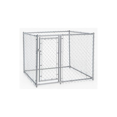 Jewett-Cameron Lucky Dog Chain Link Boxed Kennel Kits