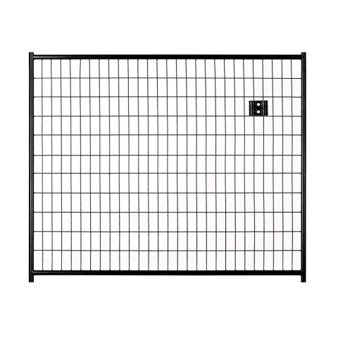 Jewett-Cameron Lucky Dog Black Welded Wire Kennel Panels